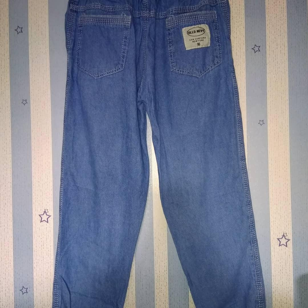 Jogger Ripped Jeans Anak Size 14, 16, 18