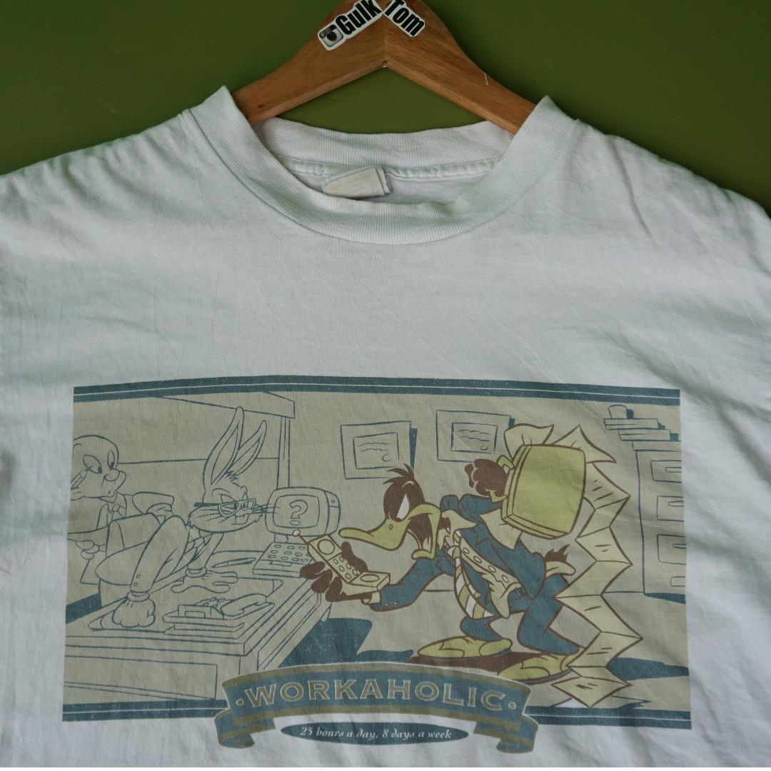 Kaos Lawas Vintage 90an Looney Tunes Warnes Bross 1991