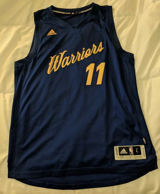 buy popular d4adb 54991 Klay Thompson Golden State Warriors 2016 Christmas Jersey