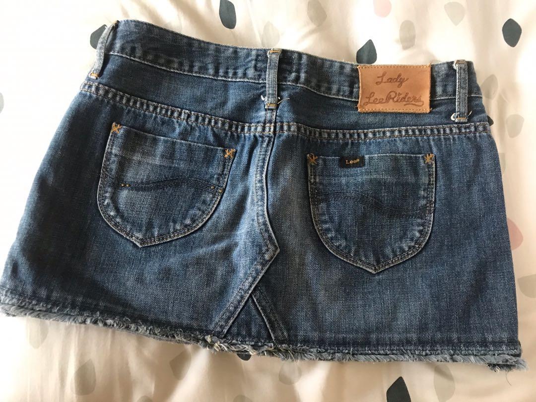 Lee mini skirt jeans