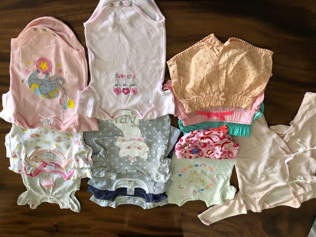 Lightly used baby girl clothes