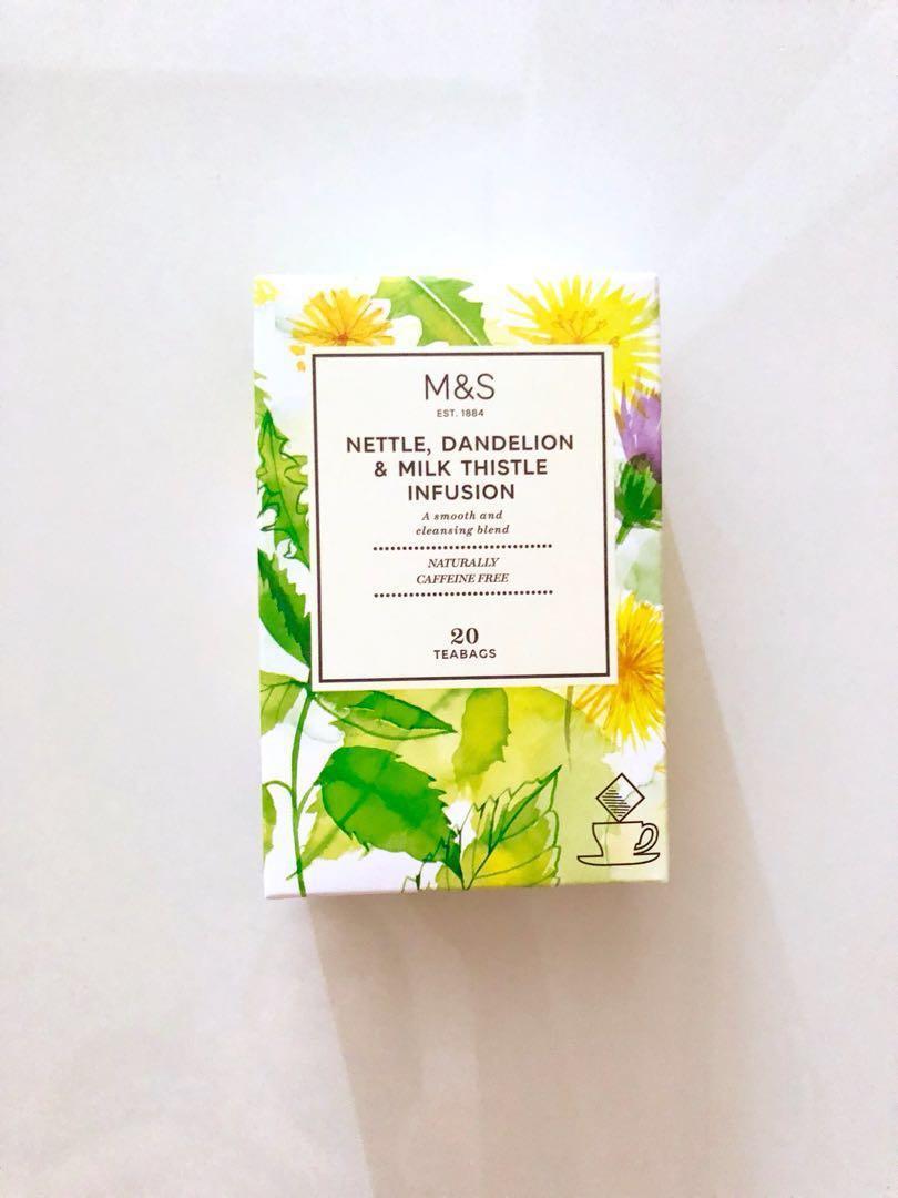 Marks Spencer Nettle Dandelion And Milk Thistle Infusion