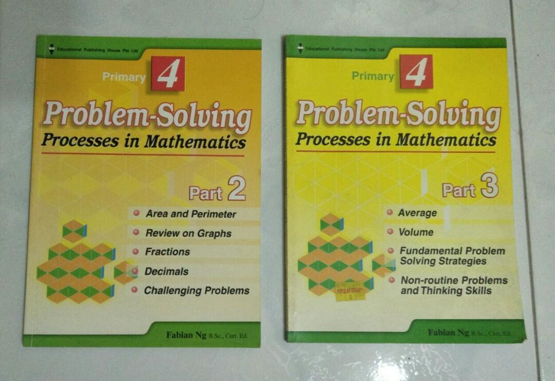 Math P4 Assessment Books -2 books