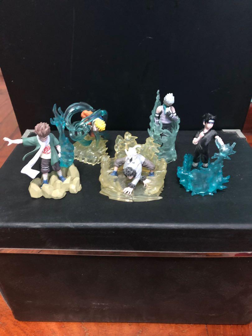 Naruto figurine set