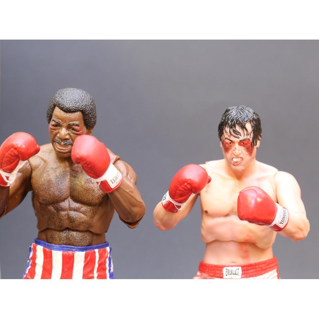 NECA Rocky Balboa & Apollo Creed Action Figure 2-Pack