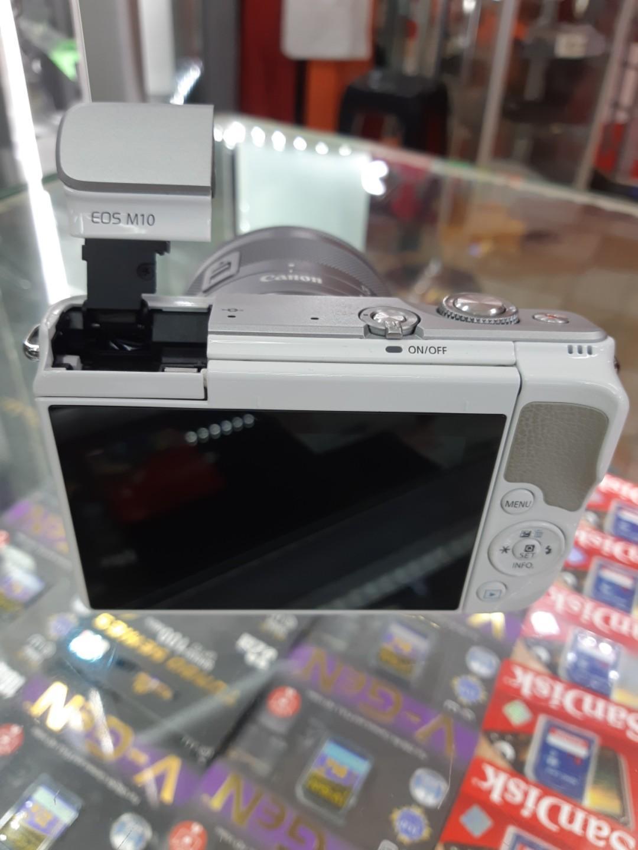 NEW Camera Mirrorless EOS M 10 lensa 15 -45mm. Bisa di cicil tanpa kartu kredit.
