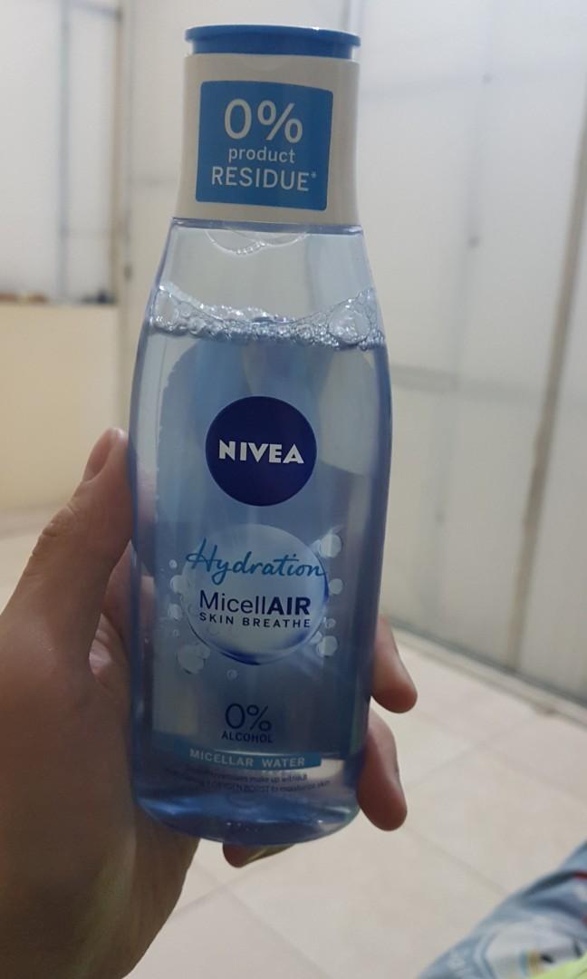 Nivea hydration micellar water