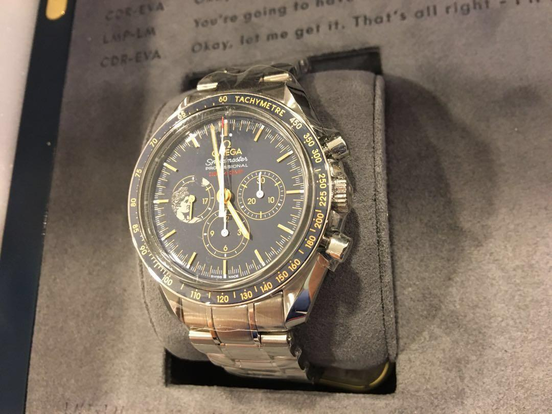 Omega Speedmaster Apollo 17 45th Anniversary Limited Edition (BNIB, Full set, Local AD)