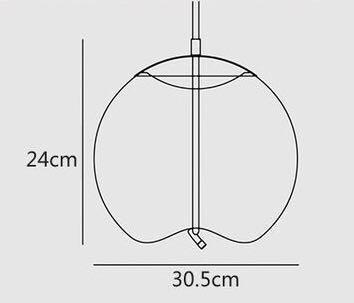 Pendant rope light