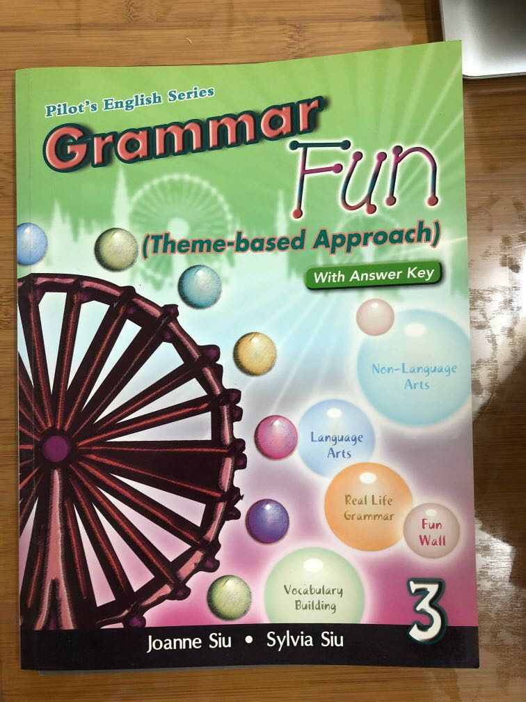 Pilot S English Series Grammar Fun Theme Based Approach With Answer Key 3 Form 3