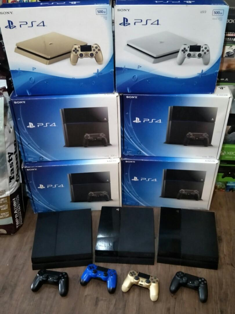 PS4/PS4 Slim Trade-In Promotion