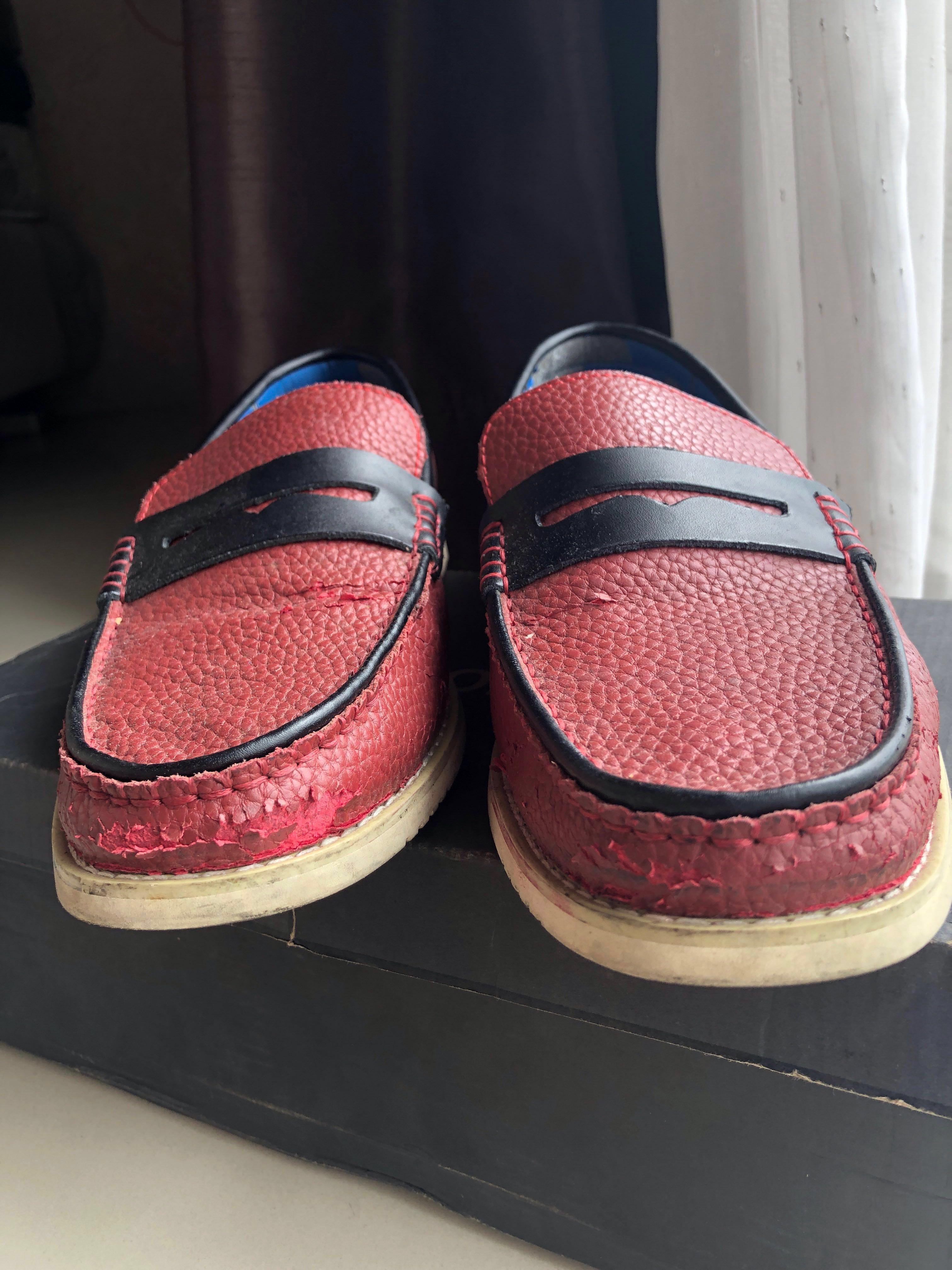 Red Loafers / Sepatu Pria Murah / Sepatu Kerja