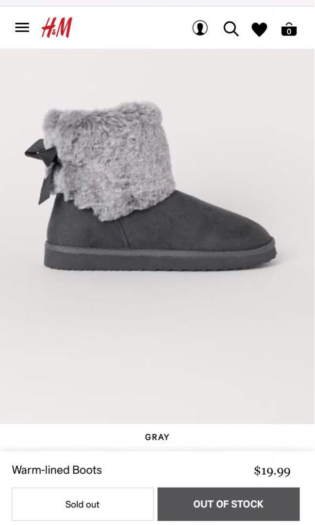 Sepatu Boot anak / Winter Boots Kids