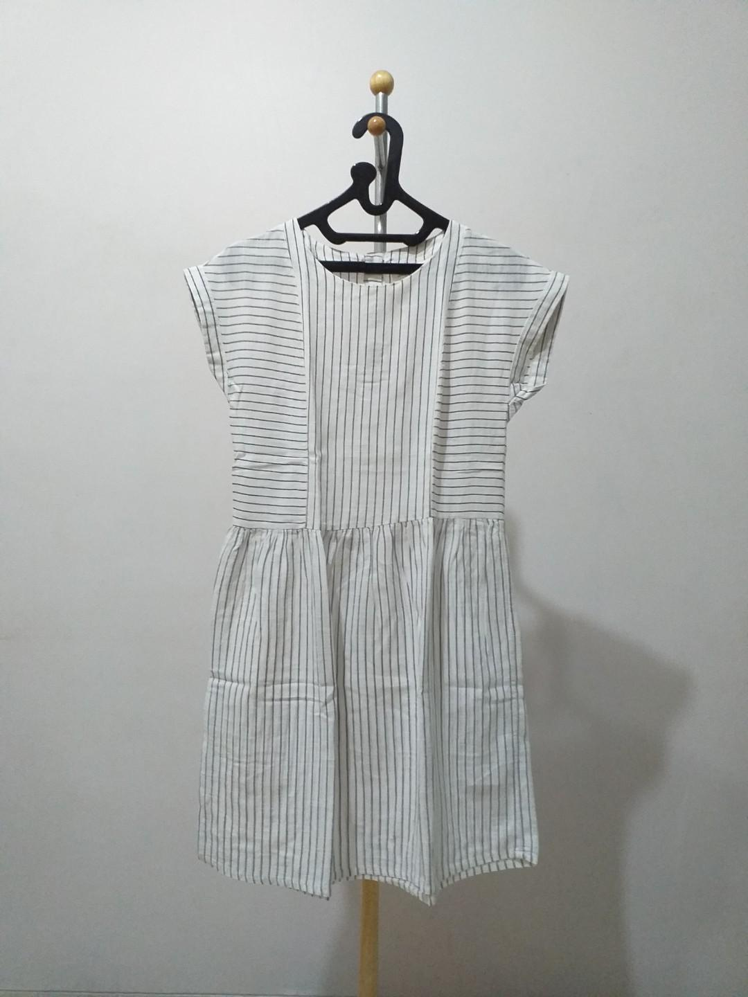 Stripe Dress HnM