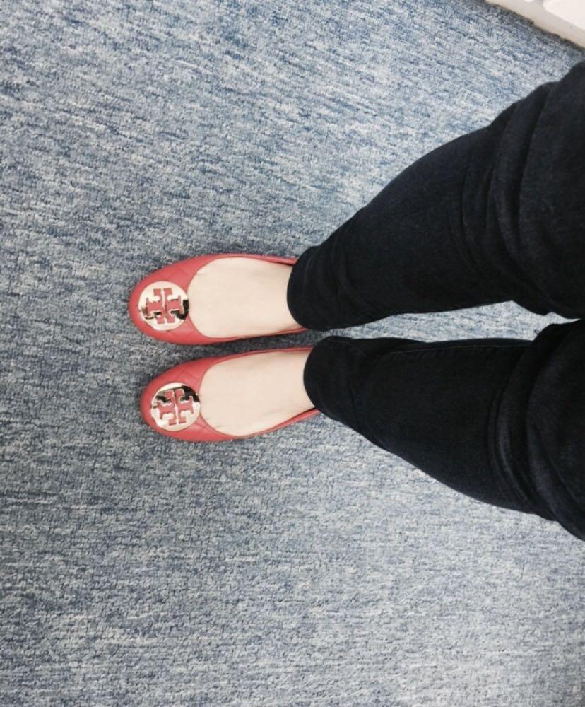 Tory Burch flats 格紋平底鞋