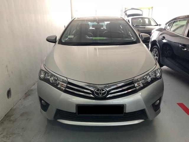 Toyota Altis(current gen) avail with rebate~