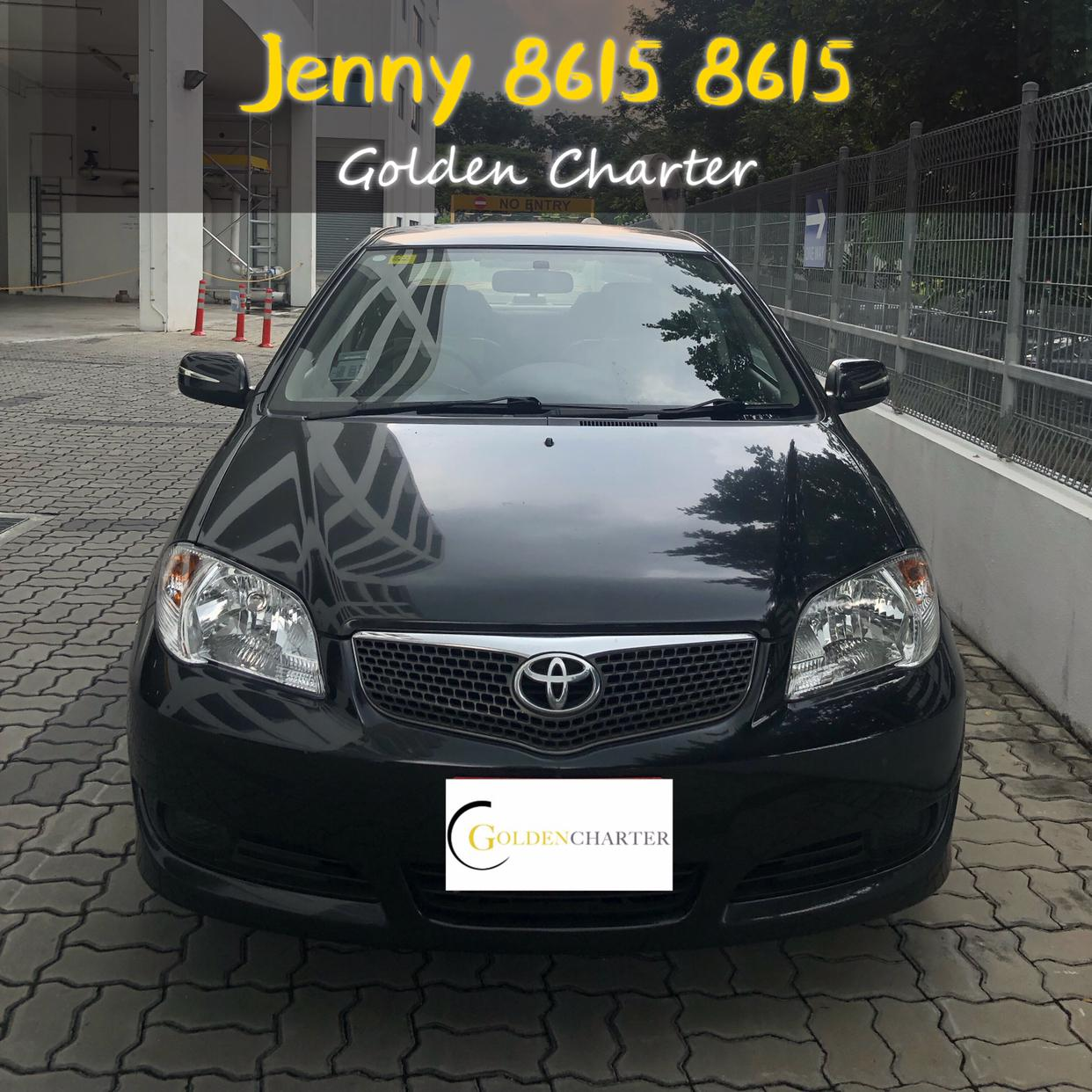 Toyota Vios For Rental PHV/Personal Usage