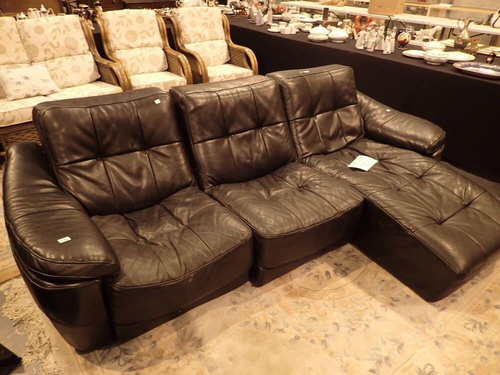 England Sofas Leather Fabric