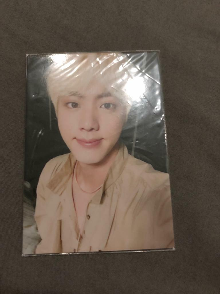 Wts Bts Jin Ly Love Yourself Tour Venue Pc Photocard Card Entertainment K Wave On Carousell