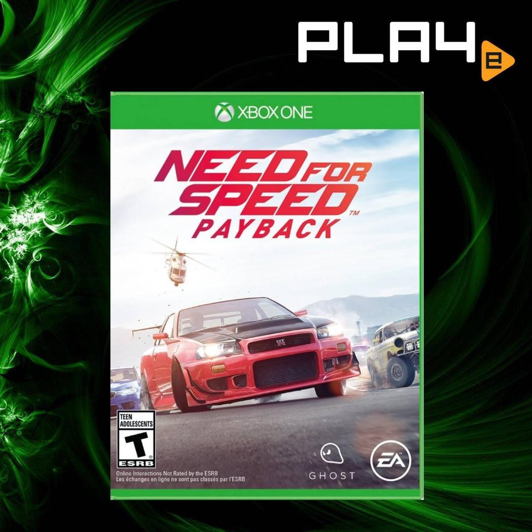 XBOX One Need for Speed Payback, Toys & Games, Video Gaming