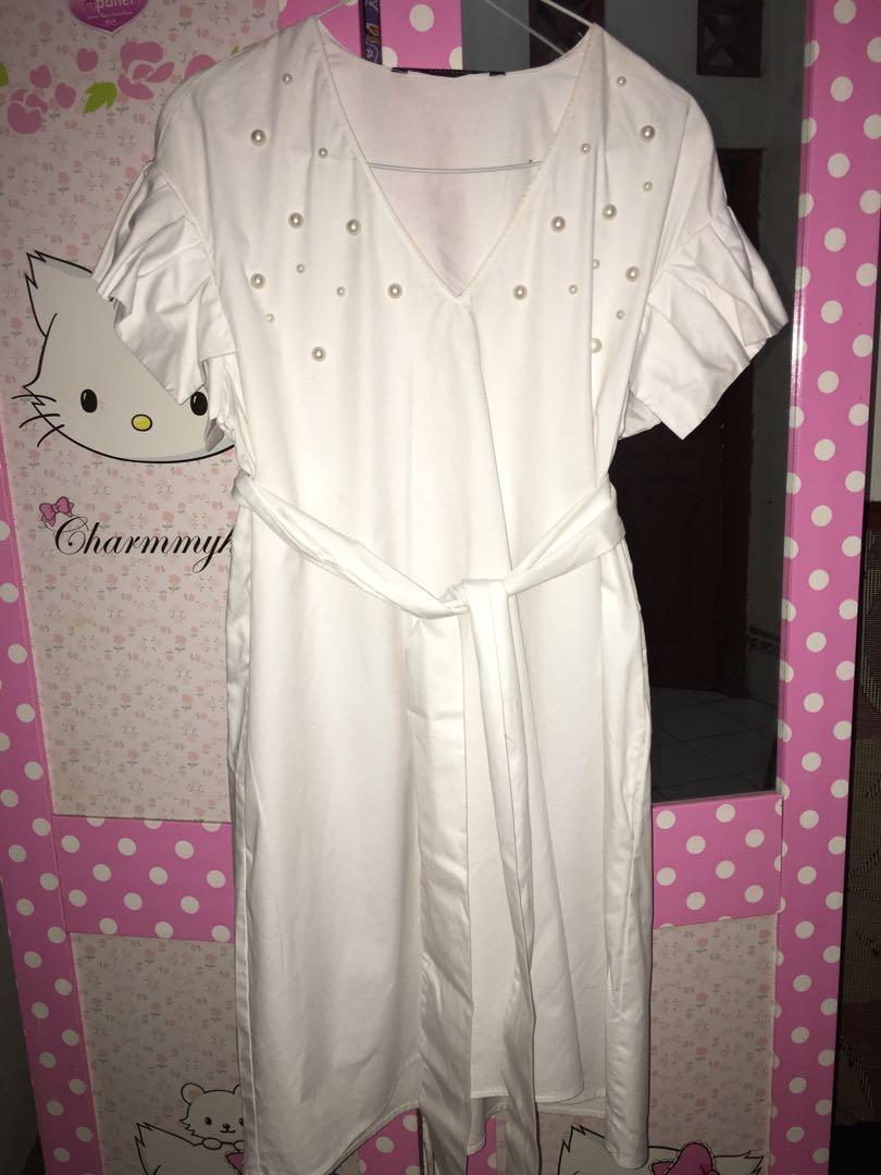 Zara Dress White