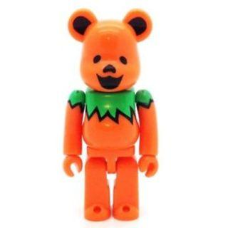S29 - Artist GRATEFUL DEAD Orange Rare Basic Bearbrick 100% Collectible Figure Medicom 9.37% Brand new and sealed, with card