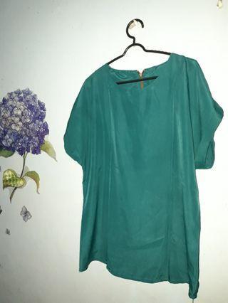 Green Blouse #BAPAU
