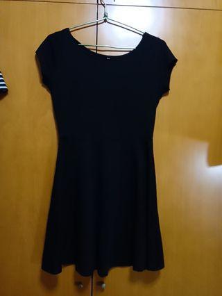 (BNWT)Cotton On black Skater Dress