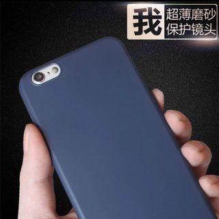 Matte Soft Case Cover for iPhone 5,5s,6,6Plus,7,Plus,8,8Plus