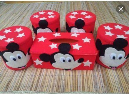 1set box tisu