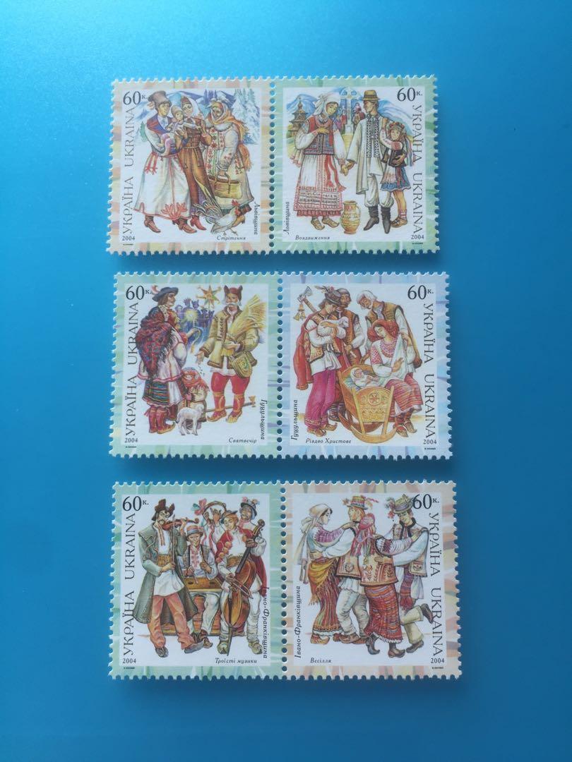 烏克蘭郵票-001