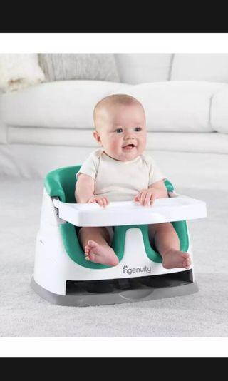 🚚 Ingenuity Baby Booster Seat in green