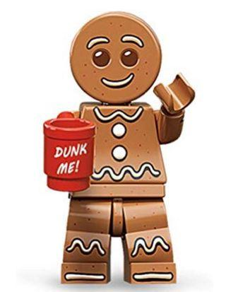 Lego Mini-Figures Series 11, Gingerbread Man(Factory Sealed)