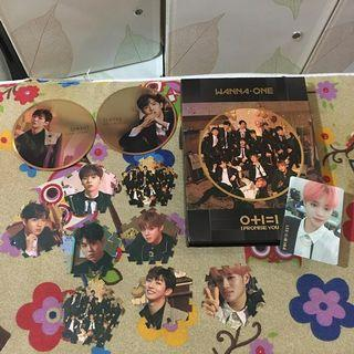 WANNA ONE I PROMISE U ALBUM
