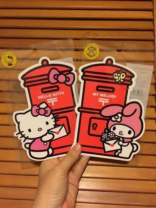 🚚 Kitty&Melody 40週年紀念明信片