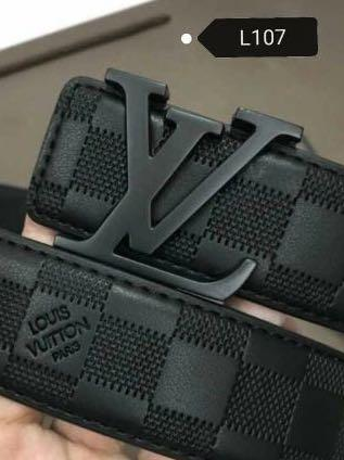 LV men belts collection