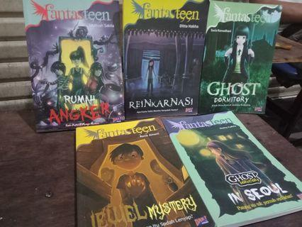 Novel horror Anak muda