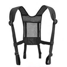 Shoulder strap for waist strap