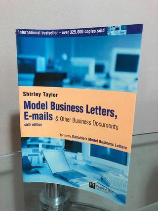 Model Business Letters, E-mails & Other Business Documents (6th edition)