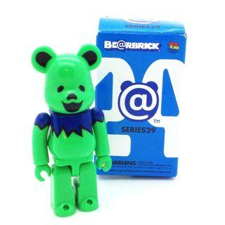 S29 - [Secret] Grateful Dead Green Artist Bearbrick 100% Collectible Figure Medicom Be@rBrick Brand new and sealed, with card