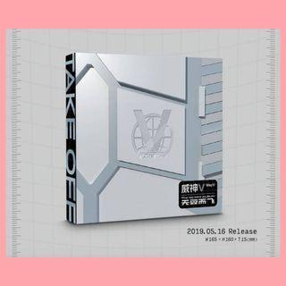 OPEN PO Mini Album WayV - Take Off