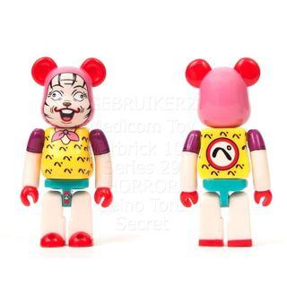 S29 - HORROR Seino Toru Manga Basic Bearbrick 100% Collectible Figure Medicom Be@rBrick Brand new and sealed, with card