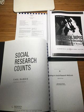 🚚 NTU Sociology Course Reading Materials