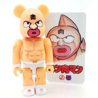 S29 - Hero Kinnikuman Muscleman Art Toy Basic Bearbrick 100% Collectible Figure Medicom Be@rBrick Brand new and sealed, with card