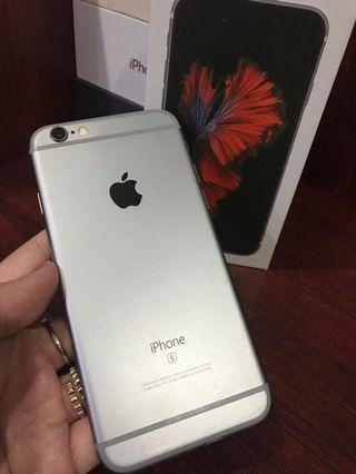 Second iphone 6s space gray 16 gb
