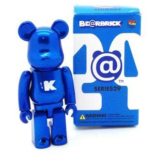 S29 - Letter Big B and C Blue Basic Bearbrick 100% Collectible Figure Medicom Be@rBrick Brand new and sealed, with card