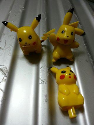 Free 免費 送 比卡超公仔 pikachu pokamon