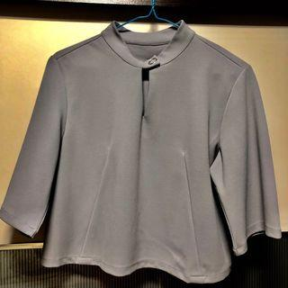 Three quarter sleeves blouse for ladies