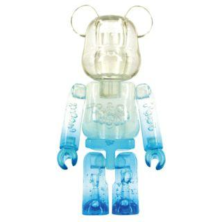 S29 - Jelly Bean Blue Basic Bearbrick 100% Collectible Figure Medicom Be@rBrick Brand new and sealed, with card