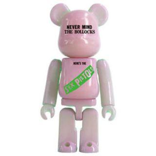 S29 - ARTIST SEX PISTOLS never mind the bollocks RARE Bearbrick 100% Collectible Figure Medicom Be@rBrick Brand new and sealed, with card